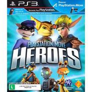 Playstation Move Heroes Ps3 Lacrado Original Mídia Física
