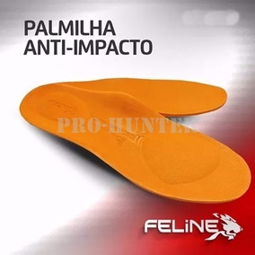 Palmilha P/ Bota Coturno Anti Impacto Absorção Suor Feline