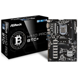 Board Asrock H110 Pro Btc+ Socket 1151 Mineria Bitcoin