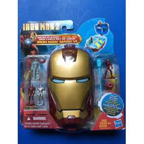 Casco Set De Juego Iron Man