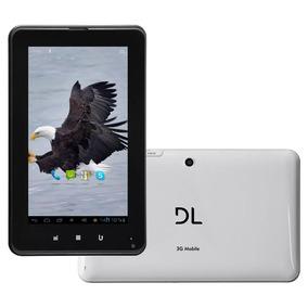 Tablet Dl Tg-m73 Mobile Plus 3g Com Função Telefone, Tela 7