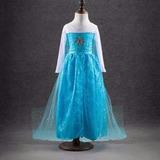 Vestido Princesa Elsa Frozen Infantil Festa Aniversário
