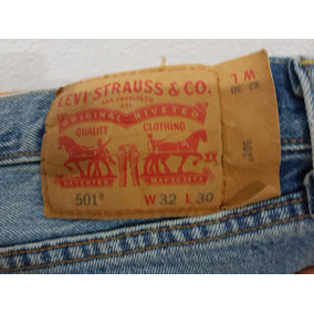 Jean Levis 501 - Made In Mexico / No Made In Argentina.