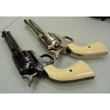 Revolver, Colt Peacemaker Blued Y Nikel, Realismo Co2