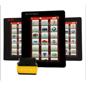 Scanner Pro3 C/ Tablet Atualização On-line Easydiag Diagun