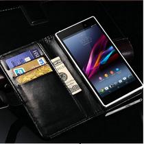 Funda Sony Xperia Z1, Con Regalos (stylus Y Mica)