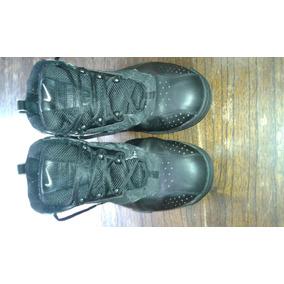 Zapatillas Botas Originales Force Negras De Cuero Talle 47