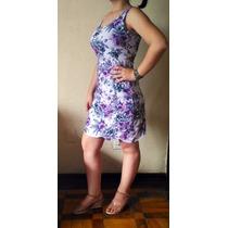 Vestido Regata Nuvem Malha Viscose Com Elastano Verão 2016