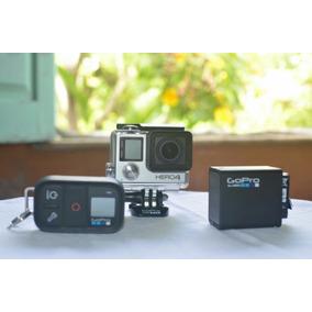 Kit Câmera Gopro Hero4 Silver Controle Remoto 3baterias 12x