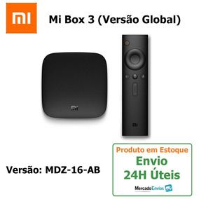 Mi Box 3 Android Tv Smart 4k Wifi+ Versão Global + Envio 24h