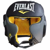 Cabezal Everlast C3 Profesional Boxeo Cuero Premium Kick Mma