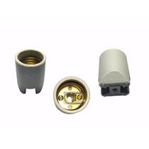 1 Un. Bocal Soquete Receptáculo Porcelana E-27 Latão Interno
