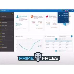 Primefaces Sentinel Layout E Tema Atualizado