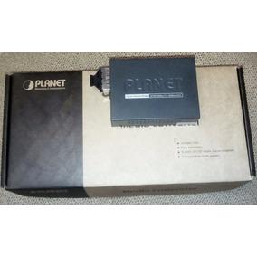 Convertidor Optico-rj45 Transceiver Planet Gigabit Ethernet