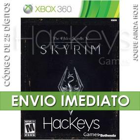 The Elder Scrolls V Skyrim - Xbox 360 - Código 25 Dígitos