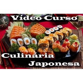 Culinária Japonesa. Gourmet, Vídeo Curso. Completo.