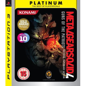 Juego Ps3 Metal Gear Solid 4 Platinum - Refurbished Fisico