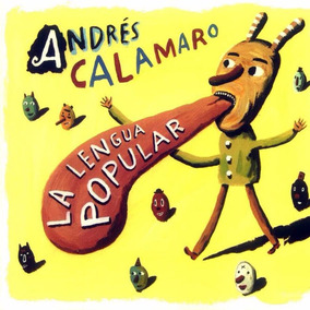 Andres Calamaro La Lengua Popular Vinilo Nuevo Lp Oferta