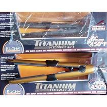 Plancha Rucha Titanium Keratin Original (luz Azul)