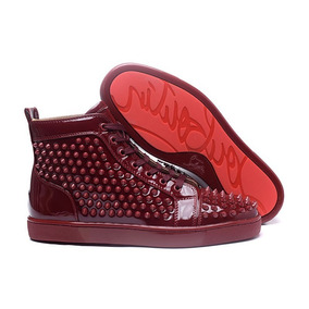 Sneaker Tênis Christian Louboutin Vinho - Pronta Entrega