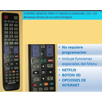 Control Tv Samsung Pantalla Led Lcd Smart Tv 3d, Polaroid
