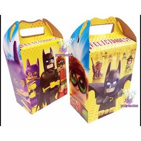 Batman Lego 10 Cajas Dulcero Fiesta