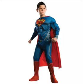 Disfraz Superman 2018 Musculoso Superheroes Avengers Dc