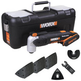 Multiferramenta Oscilante A Bateria 20v Li Worx Wx678 Bivolt