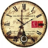 Reloj De Madera Sin Vidrio, Con Péndulo - 58cm
