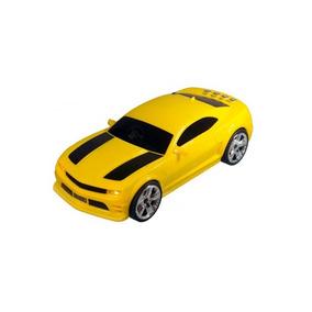 Caixa De Som Portatil Formato (camaro Amarelo)