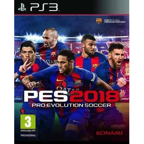 Pro Evolution Soccer 2018 Pes 18 Ps3 Relato Argentino Ya