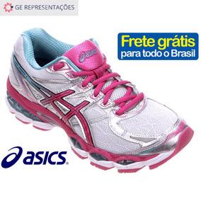 Tenis Asics Gel Evate 3 Feminino - Prata - Original - Nf-e