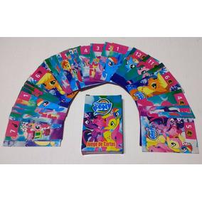 Juego De Cartas My Little Pony Naipes Infantil Diverti Toys