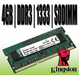 Memoria Ddr3 4gb Pc3-10600 1333mhz Sodimm Laptop Importadas