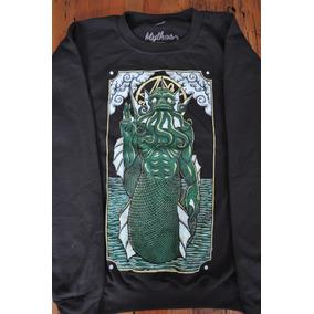 Sudadera Cthulhu O Dagon H P Lovecraft Envio Gratis!