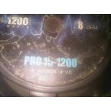 Bajos 15 Pulgadas Sound Barrier 1200 Watts