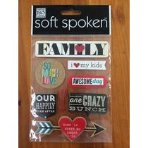 Etiquetas, Stickers Scrapbook, Family