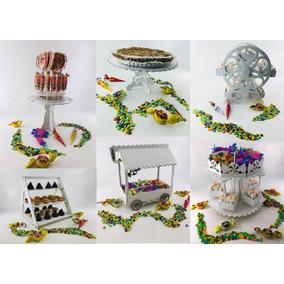 Candy Bar Fibrofacil Combo 6 Productos! Super Original!