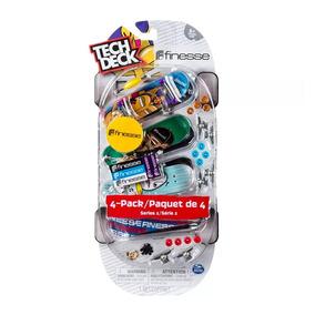 Tech Deck 4 Pack Multipack Cores Sortidas Multikids - Br338