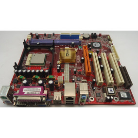 Placa Mãe Pc Chips P25g Intel 478 Com P/celeron D