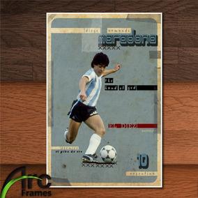 Placa Decorativa Mdf Maradona 10 Futebol Jogador Clássico 17cc535fcfd9e