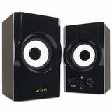 Eagle Arion Et-ar302-bk 2.0 Soundstage Speakers - 3 Inch Dri