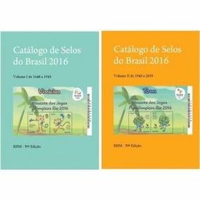 Catálogo Brasil De Selos 2016 Rhm - Cd + Brinde