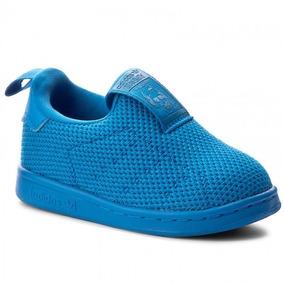 Tenis adidas Originals Stan Smith 360 Sc Azul Niño