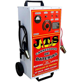 Carregador De Bateria 50 Ampéres Com Chave Seletora - Jts -