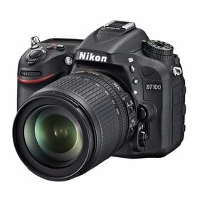 Camera Nikon D7100 Kit 18-55mm Nova Com Garantia