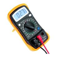 Multímetro Digital Com Sensor De Temperatura E Bateria