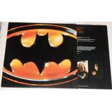 Vinil Lp Bolacha Batman Prince 1989 C/encarte E Letras Ótimo