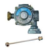 Regulador De Presion Gas Natural Sigas B10 C/ Flexible Corto