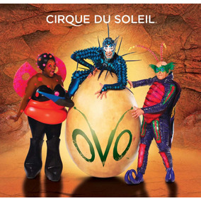 Cd Cirque Du Soleil Ovo - Canada Digipack
